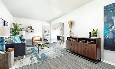 Living Room, Whispering Pines, 0