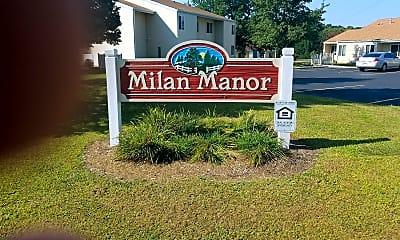 Milan Manor Apartments, 1