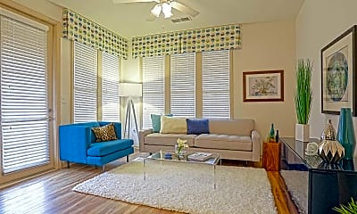 Living Room, The Moderne at Providence, 1