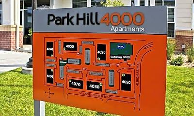 Community Signage, Park Hill 4000, 2