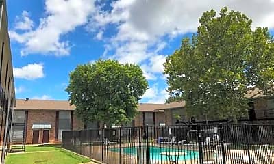 Pool, Country Club View Apartments, 1