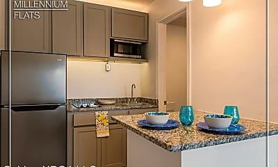 Kitchen, Millennium Flats, 1