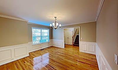 Living Room, 1068 Blairfield Drive, 1