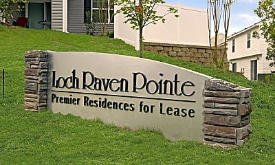 Community Signage, Loch Raven Pointe Apartments and Townhomes, 2