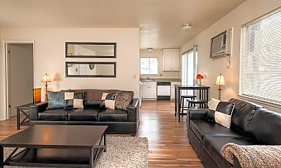 Living Room, The Social Chico Cottages, 1