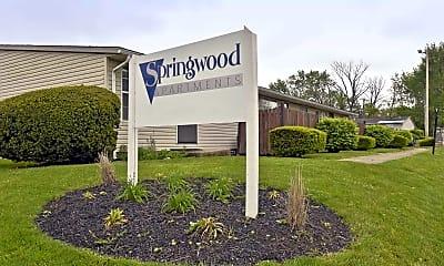 Community Signage, Springwood Apts, 0