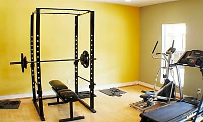 Fitness Weight Room, Providence at Heights, 2