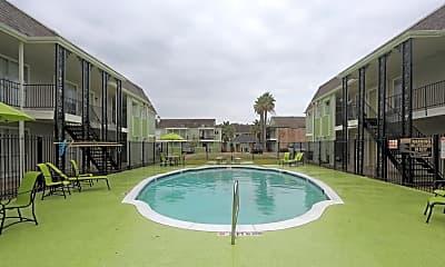 Pool, Casa Verde Apartments, 2