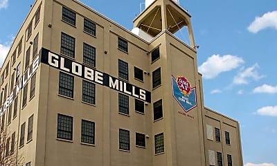 Building, Globe Mills, 0