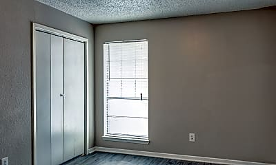Bedroom, Greenville Court Apartments, 2