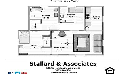 Bathroom, 3601 N Meridian St, 2