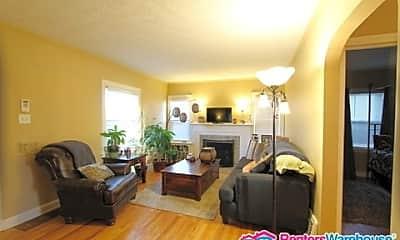 Living Room, 1691 Roslyn Street, 1