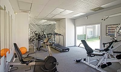 Fitness Weight Room, Trask Apartments, 1