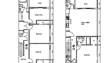 Bedroom, 44 O St, 2