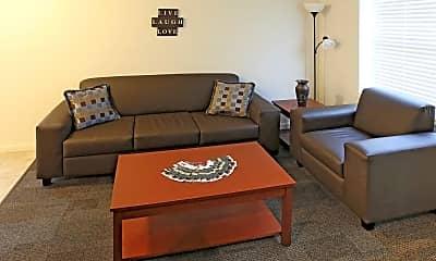 Living Room, Collegiate Village, 1