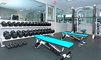 Fitness Weight Room, Rose Hall Apartments, 2