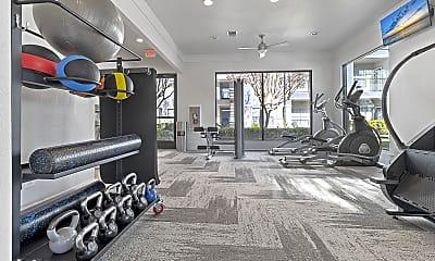 Fitness Weight Room, Retama Ranch, 1