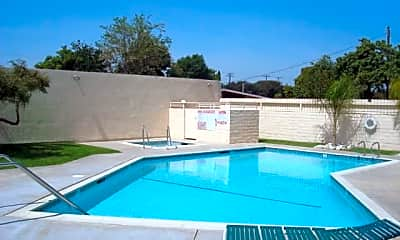 Pool, Parkside Apartments, 0