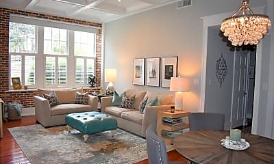 Living Room, 67 Legare St, 1