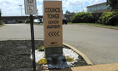Council Towers, 1
