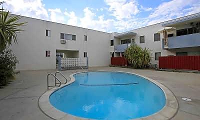 Pool, Jordan And Vassar Avenue Apartment Homes, 1