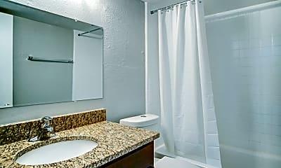 Bathroom, The Rialto Apartments, 2