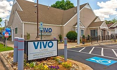 Community Signage, Vivo Apartments, 2