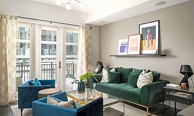 Living Room, 188 E Jefferson St 1422, 2