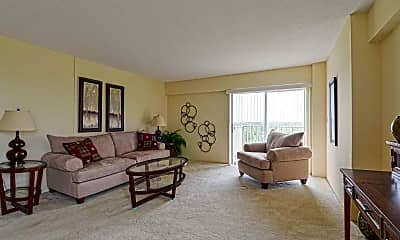 Living Room, Governor's Manor Apartments, 1