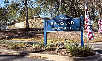 Community Signage, Rivers End, 2