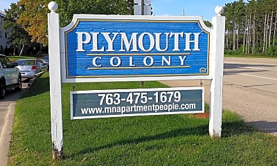 Plymouth Colony Apartments, 1