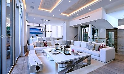 Living Room, 9501 Collins Ave 1, 1