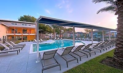 Pool, Zocalo Apartments, 0