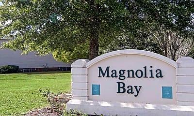 Community Signage, Magnolia Bay Apartments, 1