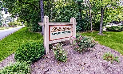Community Signage, Bells Lake, 2
