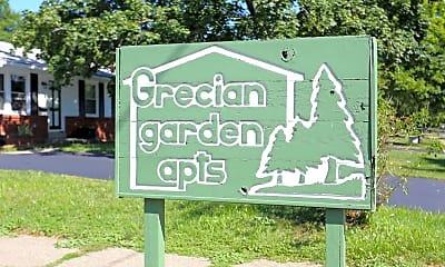 Community Signage, Grecian Gardens Apartments, 2