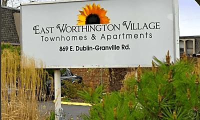 Community Signage, East Worthington Village, 2
