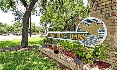 Community Signage, Towering Oaks, 2
