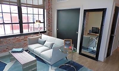 Living Room, Red Brick Downtown, 1