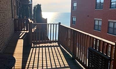 Patio / Deck, 7631 N Eastlake Terrace 2C, 2