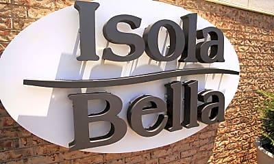 Community Signage, Isola Bella, 2