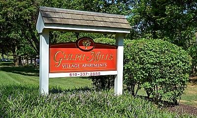 Community Signage, Gulph Mills Village, 0
