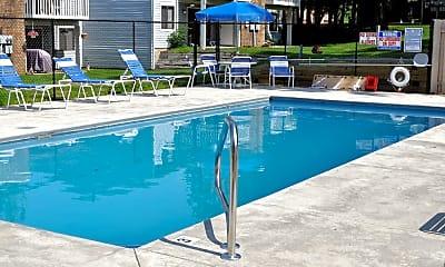 Pool, Harbour Town Apartments on Morse Lake, 1