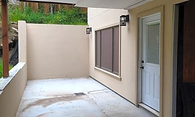Patio / Deck, 1051 Everglades Drive, Apt. A, 2