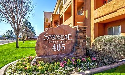 Community Signage, Sandstone, 2