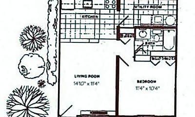 Bathroom, 6507 Field Ave, 2