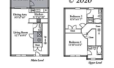 Bathroom, 1617 Citadel Dr, 2