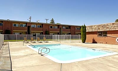 Pool, Villa Del Rio Apartments, 2