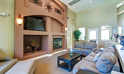 Clubhouse, Sunset Canyon Apartments, 1