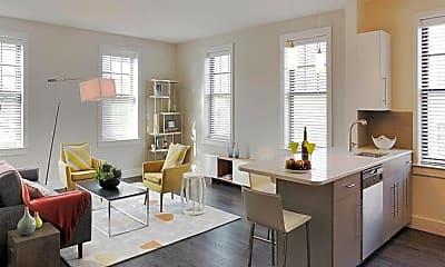 Living Room, Gatehouse 75, 2